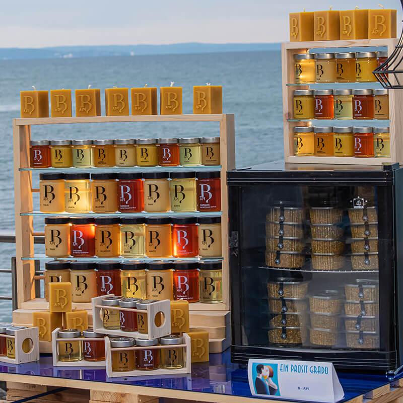 Esposizione miele biologico