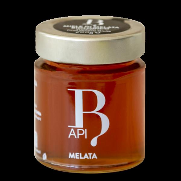 Miele di Melata. Il miele presenta tonalità di colore che vanno dal marrone scuro al quasi nero, e ciò lo rende sicuramente il miele più scuro sul mercato. Il colore scuro è segno distintivo della sua ricchezza di antiossidanti, soprattutto polifenoli, che contrastano i radicali liberi e l'invecchiamento cellulare.